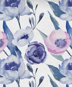 tapeta w kwiaty