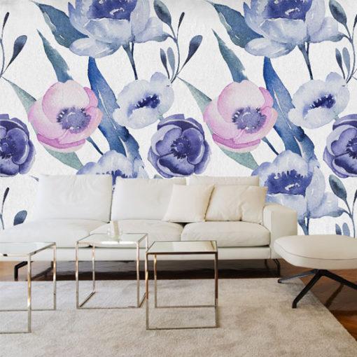 dekoracje z wzorem kwiatowym