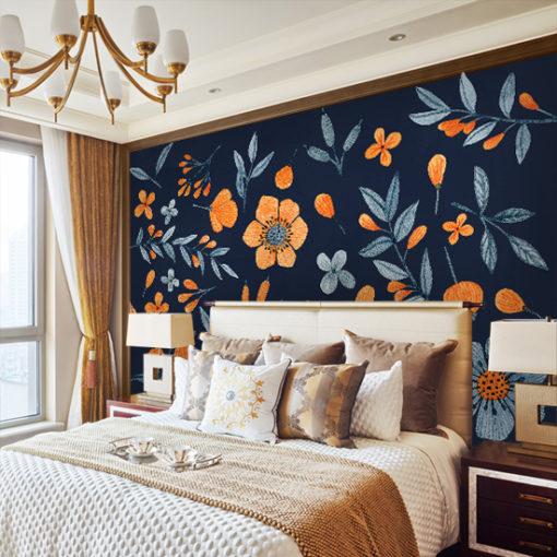 tapety z motywem florystycznym