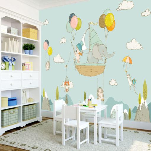 kolorowa tapeta dla dzieci