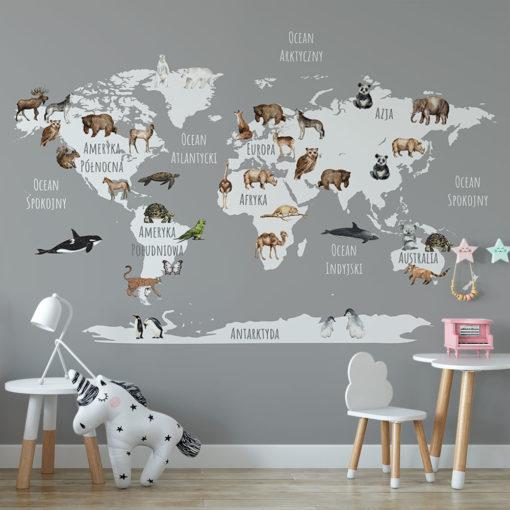 tapeta ze zwierzętami