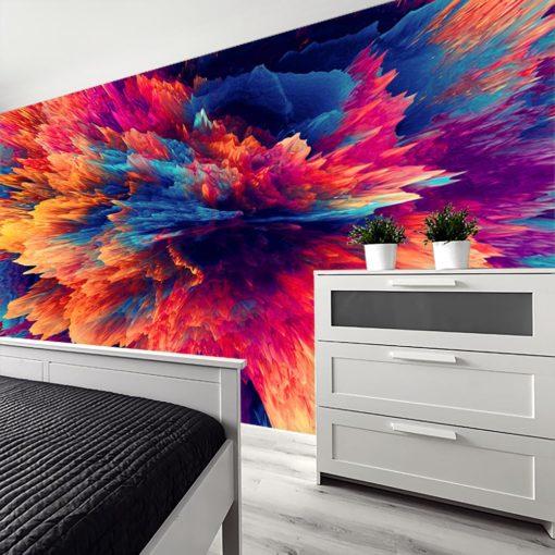 Fototapeta kolorowa do sypialni