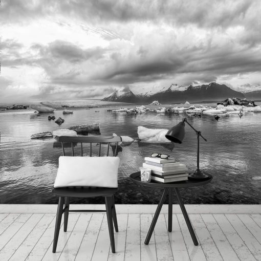 Tapeta góry i jezioro
