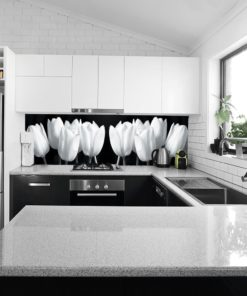 Tapeta kuchenna tulipany