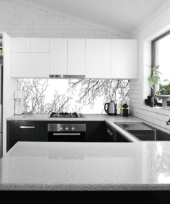 Minimalistyczna fototapeta kuchenna
