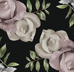 Tapeta kuchenna róże i piwonie