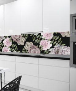 Fototapeta do kuchni kwiaty