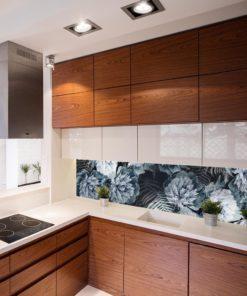 Fototapeta nad blat kuchenny