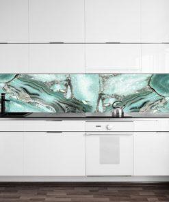 Fototapeta kuchenna z minerałem