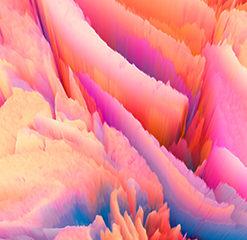 Fototapeta kolorowa z abstrakcją