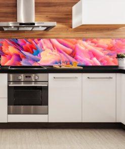 Kuchenna fototapeta z abstrakcją