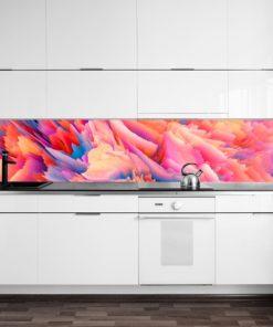 Fototapeta kuchenna z motywem abstrakcji