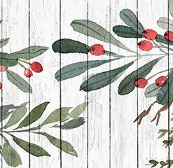 Kuchenna fototapeta kwiaty i deski