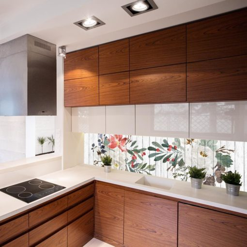 Fototapeta rustykalna do kuchni