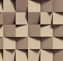 Fototapeta w kwadraty w beżowym kolorze