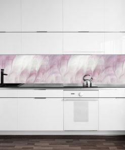 Różowa fototapeta z abstrakcyjnym wzorem