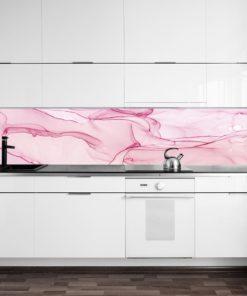 Tapeta akwarelowa w kolorze różowym