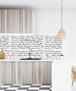fototapeta z napisami do kuchni