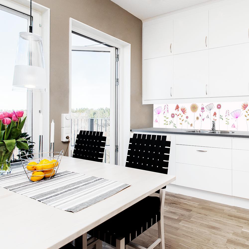 fototapeta z kwiatami do kuchni