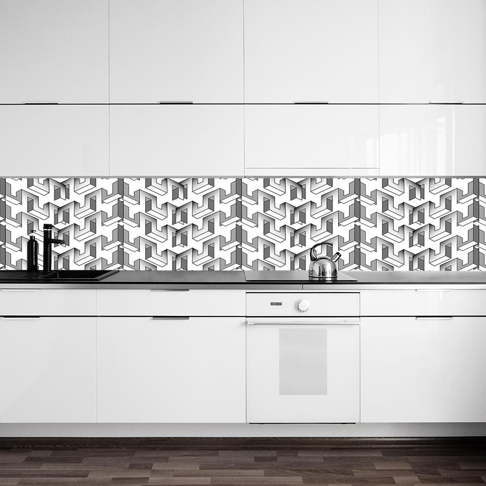 fototapeta z abstrakcyjnym wzorem do kuchni