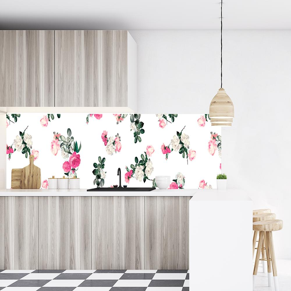 foto-tapeta z motywem botanicznym do kuchni
