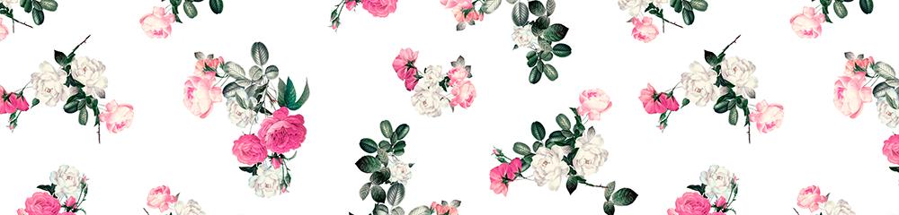 fototapeta z kwiatami róż do kuchni