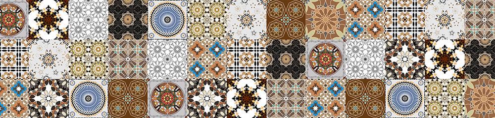 tapeta w marokańskim stylu do kuchni