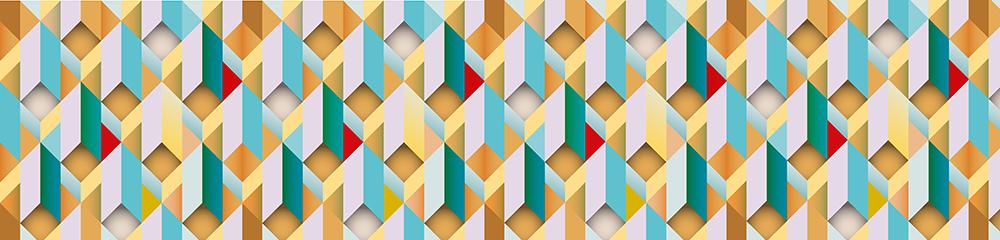 fototapeta z kolorowymi wzorami do kuchni