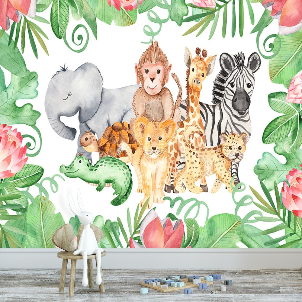 fototapeta ze zwierzętami na ścianę