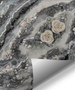 ścienna dekoracja szara