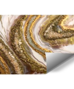 tapeta jako reprodukcja resin art