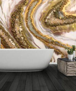 tapeta łazienkowa jako reprodukcja