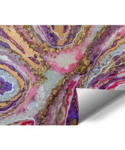 tapeta fioletowa jako reprodukcja