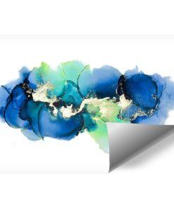 fototapeta z motywem abstrakcyjnych kleksów