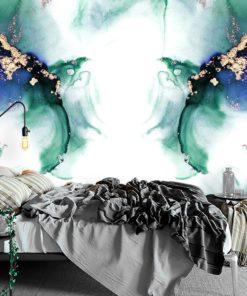 Fototapeta z symetryczną abstrakcją