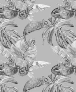 dekoracja ścienna biało-czarna