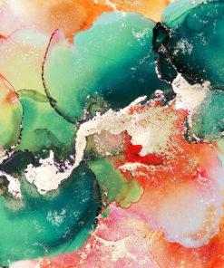 Foto-tapeta z pastelowym motywem abstrakcji