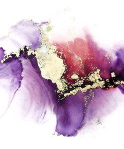 Fioletowa abstrakcja jako ozdobna tapeta