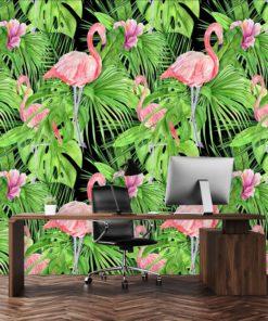 tropiki jako dekoracja zielona