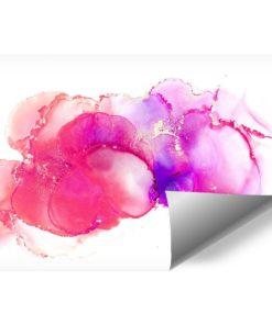 dekoracja z różowymi akcentami