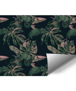 fototapeta z motywem tropikalnych roślin