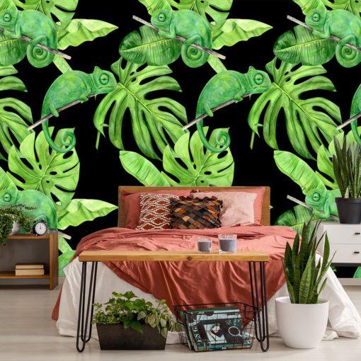 tapeta przedstawiająca tropikalną roślinność
