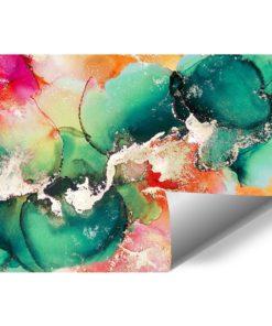 Tapeta z akwarelową abstrakcją