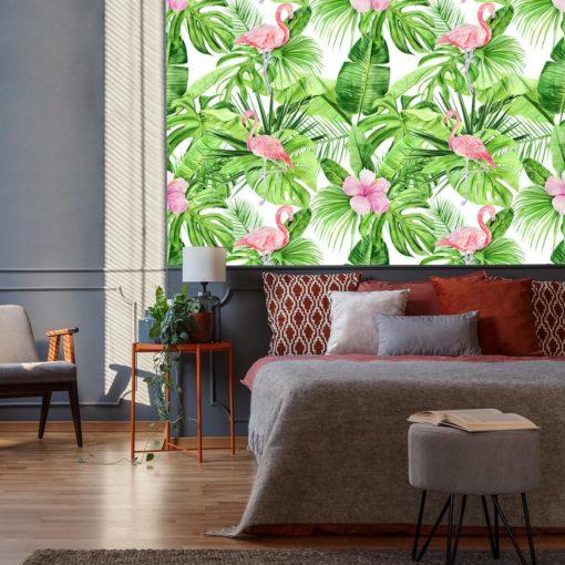 Fototapeta z kwiatami hibiskusa
