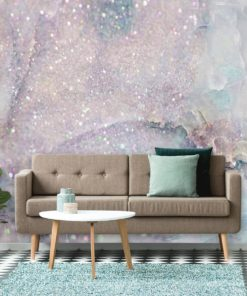tapeta do salonu przedstawiająca glitter marble