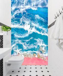 Fototapeta do łazienki dekoracja z kamieniami