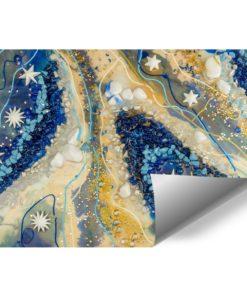 tapeta dekoracyjna abstrakcja ewa turowski