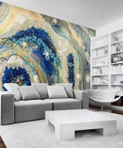 boho dekoracja do salonu na ścianę zywica
