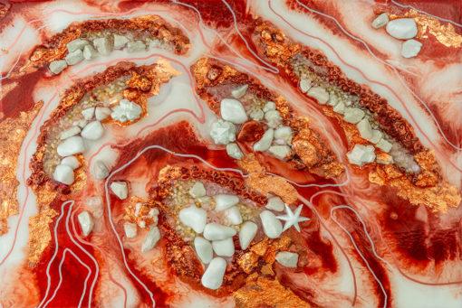 fototapeta sztuka żywiczna reprodukcja motyw abstrakcji