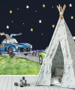 Fototapeta do pokoju dziecka - Fajne samochody